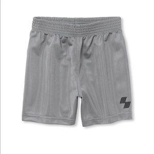 NWT PLACE Boys Gray Sports Gym Shorts 5T